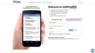 Rediffmail Enterprise - A Next Generation Email Service   Business ...
