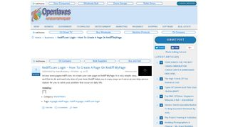 Rediff.com Login – How to Create a Page on Rediff MyPage ...