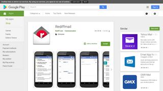 Rediffmail - Apps on Google Play