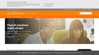 Payroll solutions | myPay Solutions | Thomson Reuters