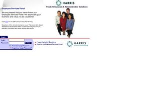 Employee Services Portal - Harris Computer Systems