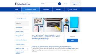 myuhc.com   UnitedHealthcare