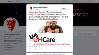 University Hospitals on Twitter: