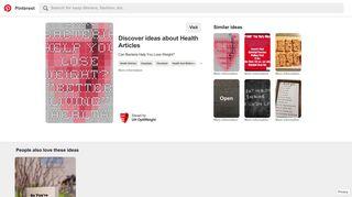 Health Articles | MyUHCare | University Hospitals - Pinterest