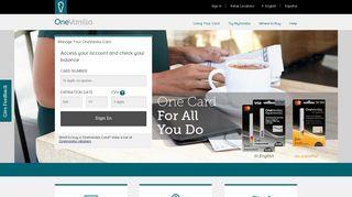 OneVanilla | Prepaid Card