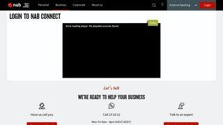 Login to NAB Connect - NAB