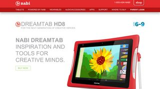 DreamTab HD8 - nabi Support – Where Happiness Happens