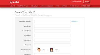 Create a nabi ID