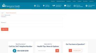 User account | Narayana Health