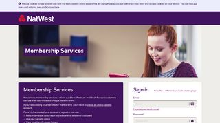 Natwest Membership Services - Home