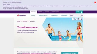 Travel Insurance - NatWest