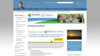 NC 401k Plan - North Carolina Department of State Treasurer