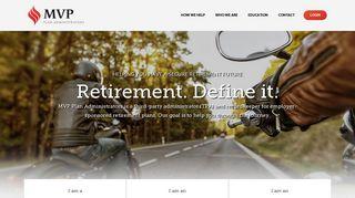 MVP Plan Administrators: Employee Retirement Plans