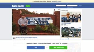 NCDPS is thankful for correctional... - North Carolina Department of ...