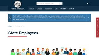 State of North Carolina: State Employees - NC.gov