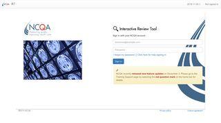 Interactive Review Tool - NCQA