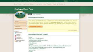 Employee Home Page | Nebo School District