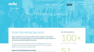 Nebo Careers: Email Campaign Specialist in Atlanta - Nebo Agency