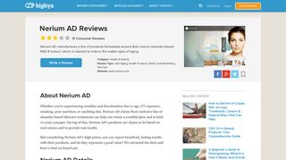 Nerium AD Reviews - Is it a Scam or Legit? - HighYa