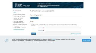 NetApp Insight Las Vegas 2018