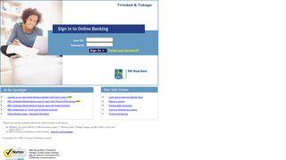 Login to Online Banking