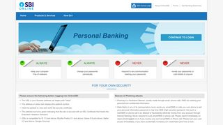 State Bank of India - Personal Banking