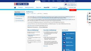 NetBanking, Internet Banking, Online Banking, E-banking India ...