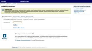 Nordea's Netbank