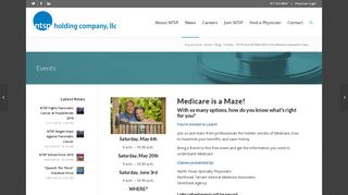 NTSP and NETIMA Offer Free Medicare Education Class - North ...
