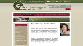 About Us - Eastern Mutual Insurance Company
