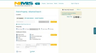 Find Real Estate in New Jersey - New Jersey Multiple Listing Service