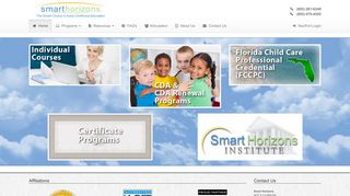 Smart Horizons offers a wide range of services including: content ...