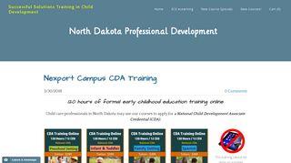 Nexport Campus CDA Training - Successful Solutions Training in ...