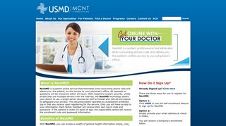 USM | MCNT | NextMD - Connect with YOUR Doctor