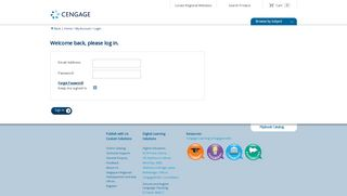 Account login, Register, new user, regsiter new account, cengage new ...