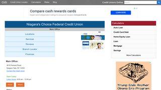 Niagara's Choice Federal Credit Union - Niagara Falls, NY