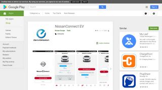 NissanConnect EV - Apps on Google Play
