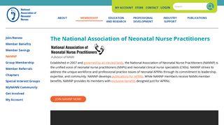 National Association of Neonatal Nurse Practitioners | NANN