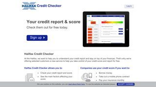 Welcome Halifax! - Noddle   Free For Life Credit Report And Credit ...