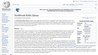 Northbrook Public Library - Wikipedia