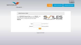 NOVOAIR - SMILES Rewards Program