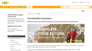 Your Benefits Connection|NXP - NXP Semiconductors