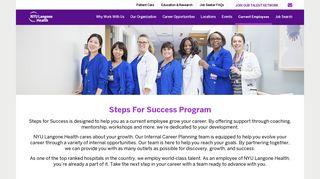 Current Employees | NYU Langone Health - Jobs | NYU Langone Health