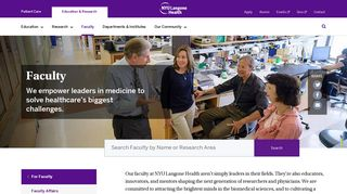 Faculty | NYU Langone Health