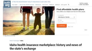 Idaho health insurance marketplace: history and news of the state's ...