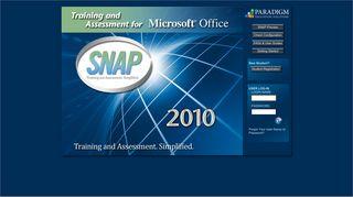 SNAP 2010 - Login
