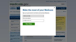 How do I get Parts A & B? | Medicare
