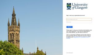 Office 365 - University of Glasgow