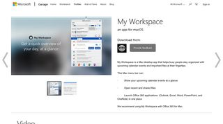 My Workspace - Microsoft Garage