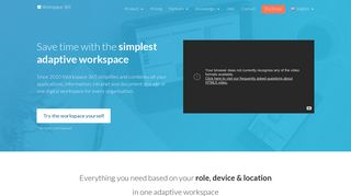 Workspace 365: Online workspace on top of Office 365 & RemoteApps
